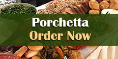 Specials Porchetta